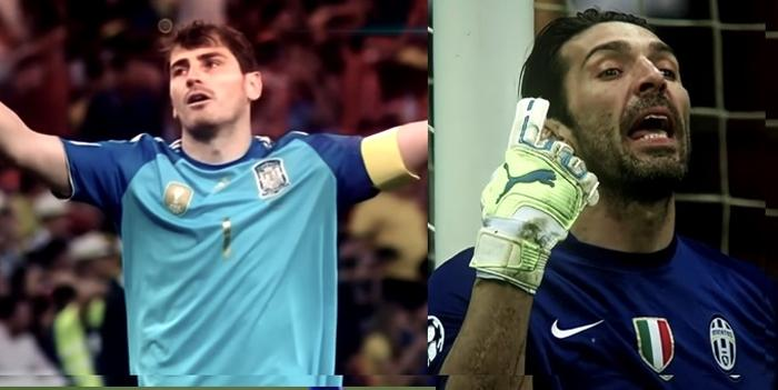 Casillas mot Buffon
